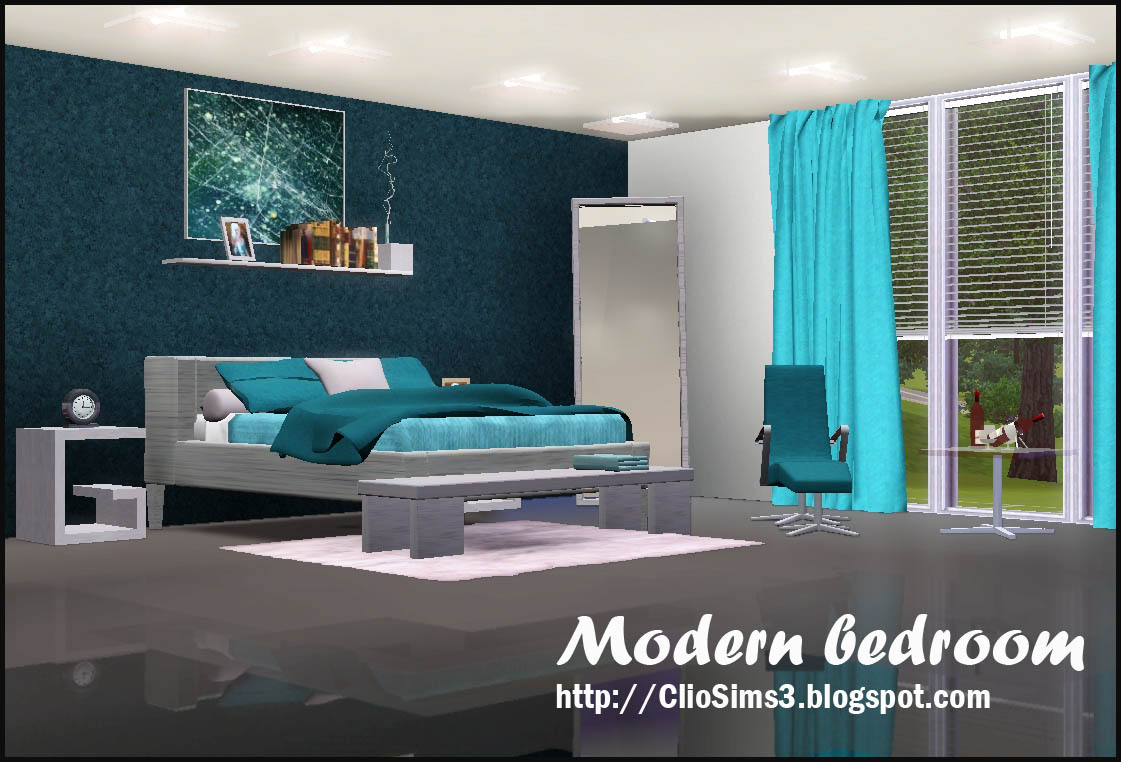Sims 3 Updates Clio Sims 3 Modern Bedroom By Clio