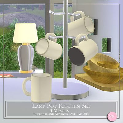 by Set Sims Sims 3 Updates Pot Kitchen ResourceLamp The exoBrdC